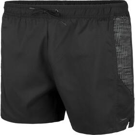"speedo sport Printed 16"" shorts Herrer, hex black/oxid grey"